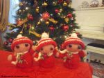 Christmas Elves by Dharmachan