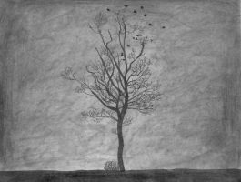 Lonely Tree by Save-Me-From-Me