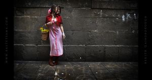 Aerith Cosplay 01 by Bastetsama-Cosplay