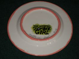 Zombie Girl Plate 02 Back by Gummibearboy