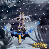 Ashe The Frost Archer by amyrose7