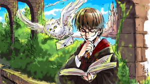 takamin harry potter by woshibbdou