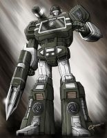 Platinum Soundwave by DAA-TRUTH