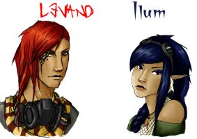 Ilum + Levand by Mangamania13