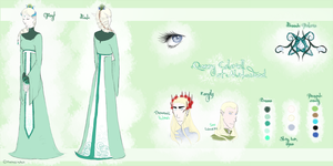 Tolkien OC profile - Calariell of Mirkwood by RapassWave