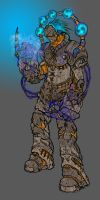Thunder God Oni by Brods