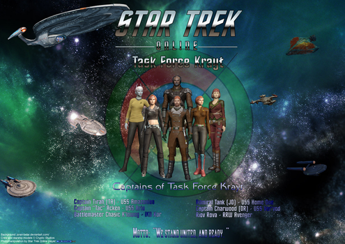 The Captains of Task Force Krayt by RBL-M1A2Tanker