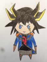 Little Yusei by BlackRose2172