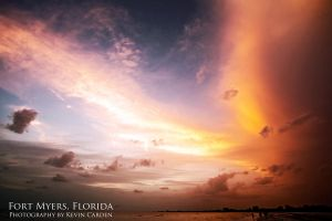 Fort Myers Sunset by kevron2001