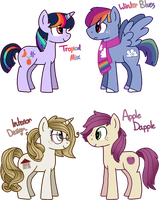 [CLOSED] - Shipping Ponies Batch 2 by Featheries