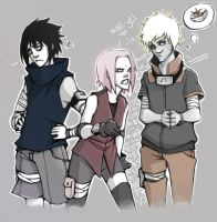 .:Ya Silly Lil' TEAM 7-ators:. by BlissfulGold
