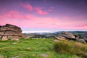 Sunrise on Dartmoor by PeteLatham