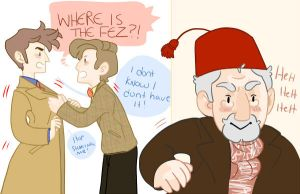 WHO'S GOT THE FEZ by uccelli
