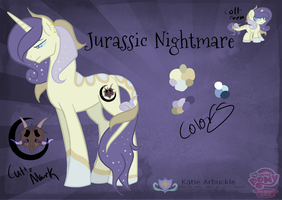 Jurassic Nightmare's Reference by StagetechyArt