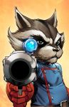 ROCKET RACCOON by deffectx
