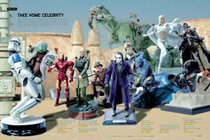 Action Figures in action by benskywalking