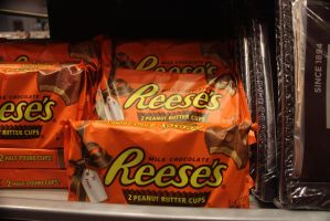 Giant Reese's Peanut Butter Cup stock by BeccaB323