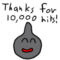 Thanks for 10000 hits by DragonQuestWes