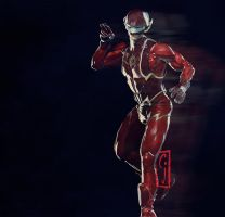 Barry Allen Fastest Man Alive The Flash by SamKablamm