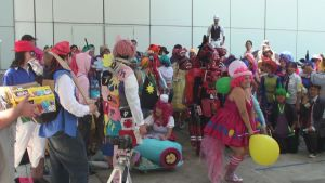 Humanized Cosplays from My Little Pony at AX 2013 by trivto