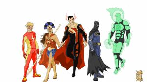 Justice League Redesign by xXdemi-godXx