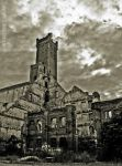 cathedral of dilapidation by Attila-G
