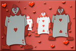 Ace of Hearts and Friends Valentine by WDWParksGal