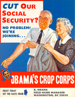Obama's Crop Corps by poasterchild