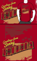 Greetings from Zombie Florida! (Redbubble) by armageddon