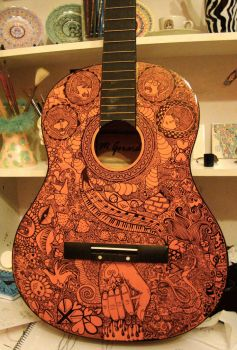 The Beatles Guitar by Adrift-Dreams