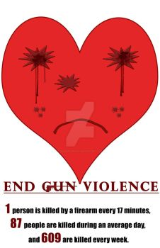 End-Gun-Violence by SakeenaSmiley