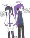 Vocanime Character Swap! #2 ~ Kanda and Gakupo! by LenFan20