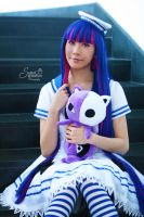 Lolita Sailor - Stocking III by EnchantedCupcake
