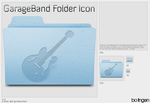 GarageBand Folder Icon by TraVitas