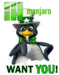 Manjaro Want You by Vallend