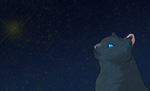 Starclan guides us all - Bluestar by MichelleTheCat