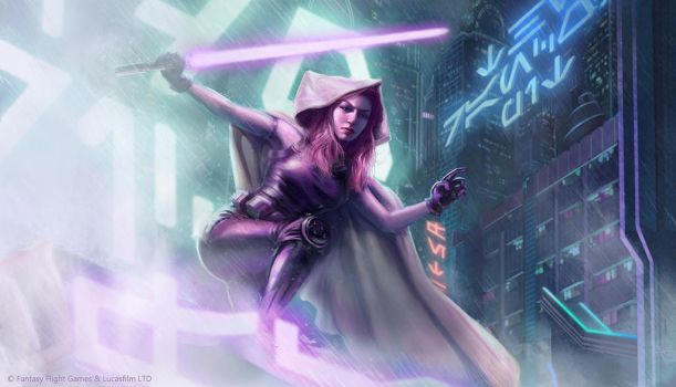 Star Wars: TCG - Mara Jade by AnthonyFoti