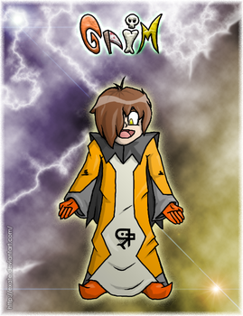 Grim - Colored by Exate