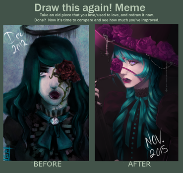 Draw this again Meme by OctoGear