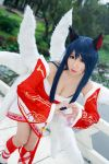 League of Legends - Ahri by Xeno-Photography