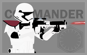 First Order Stormtrooper Officer by Artifician
