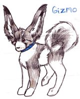 Gizmo anime style by Animal-and-anime-lvr