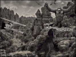 King Kong 1933 Photo Edit by Legrandzilla