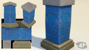 3D pillar by SchWarrerN