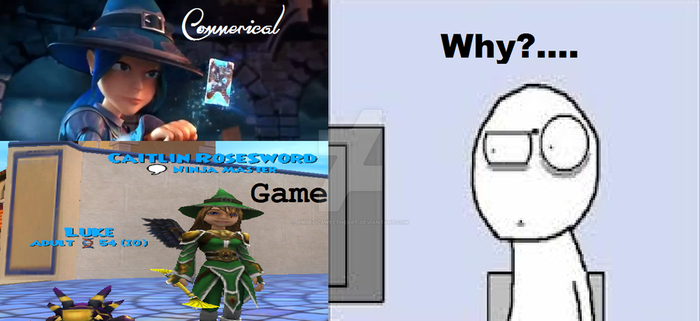 Wizard101 Logic. by Angelicsweetheart