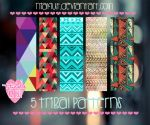 5 Tribal Patterns NiaKiut by Niakiut