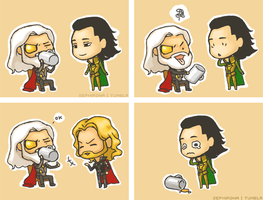 THORSOUP vs LOKISOUP. by Sephirona
