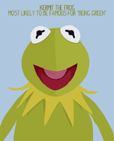 Superlatives: Kermit the Frog by cheapescape