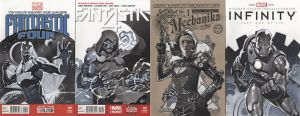 Sketch Cover Set 5 by ChristopherStevens