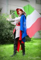 Keep the flag flying! by VioVolpe